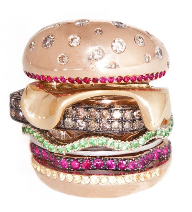 hamburger ring