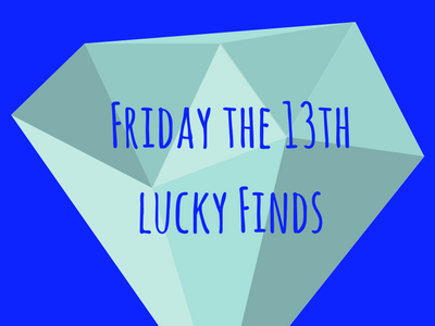 Friday the 13th Lucky Jewelry Finds